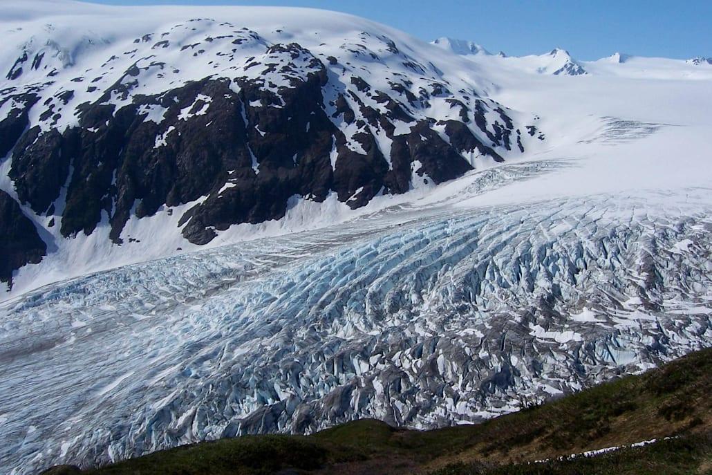Dans la péninsule du Kenai en Alaska