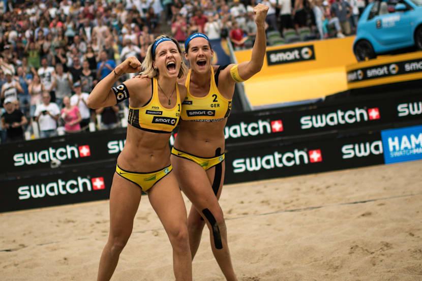 Best Swatch Beach Volleyball Action Clip From Hamburg