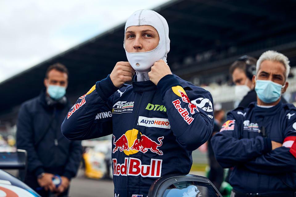 Liam Lawson, 22 Ağustos 2021'de Almanya'daki Nürburgring'de zorlu bir DTM hafta sonu geçirdi.
