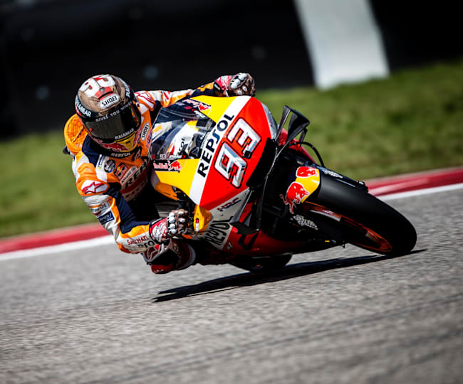 Marc Marquez crashed out of MotoGP™ Red Bull Grand Prix of the Americas