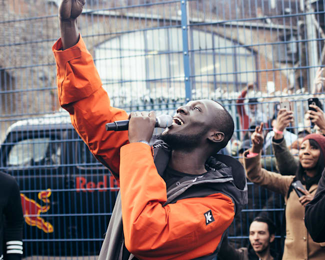 Stormzy in Camden Town, London