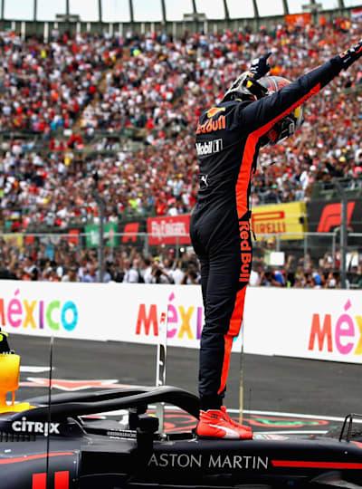 Verstappen celebra en México su quinta victoria