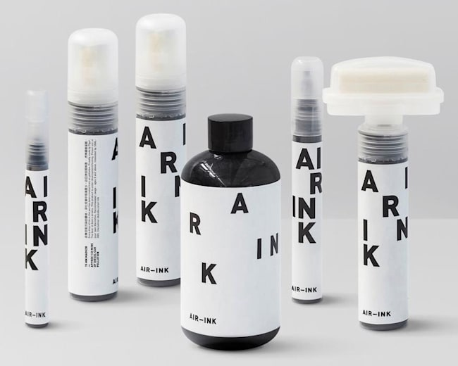 Could AIR-INK help to clean up the environment?