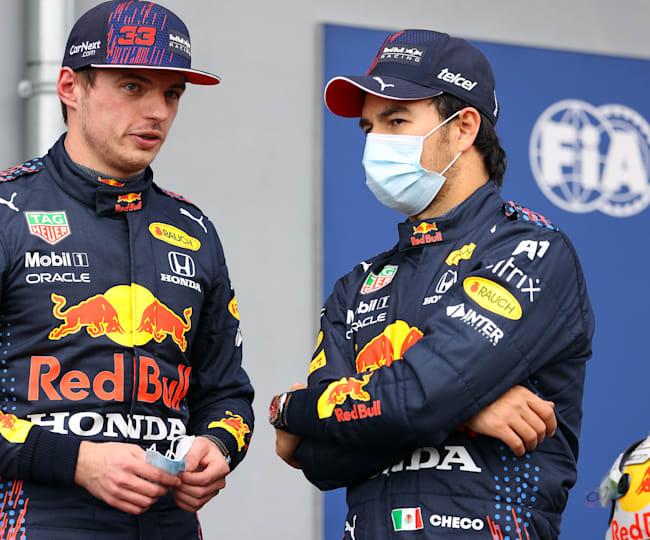 Sergio Perez is de nieuwe teammaat van Max Verstappen