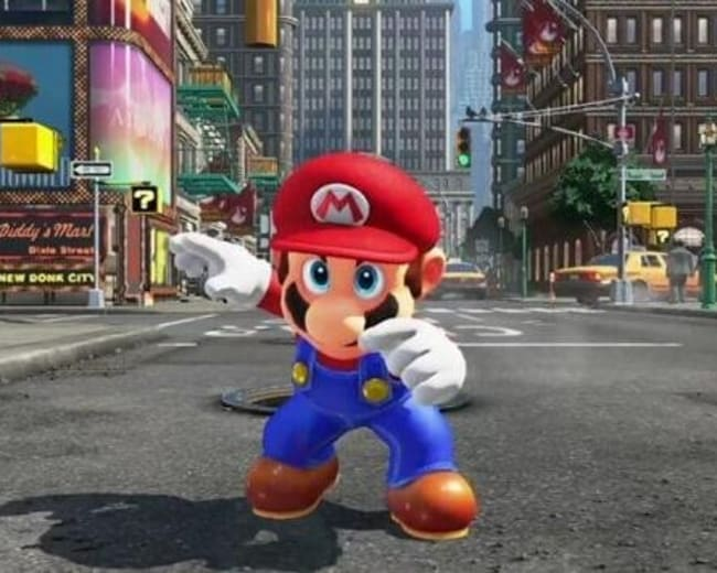 Super Mario Odyssey sur Nintendo Switch