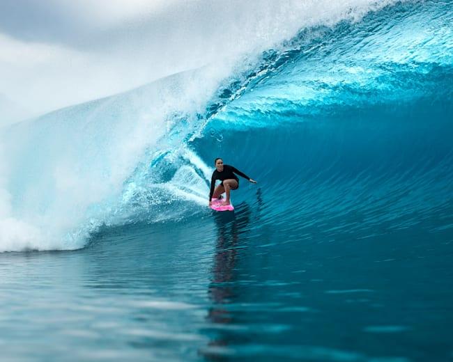 Carissa Moore in Tahiti