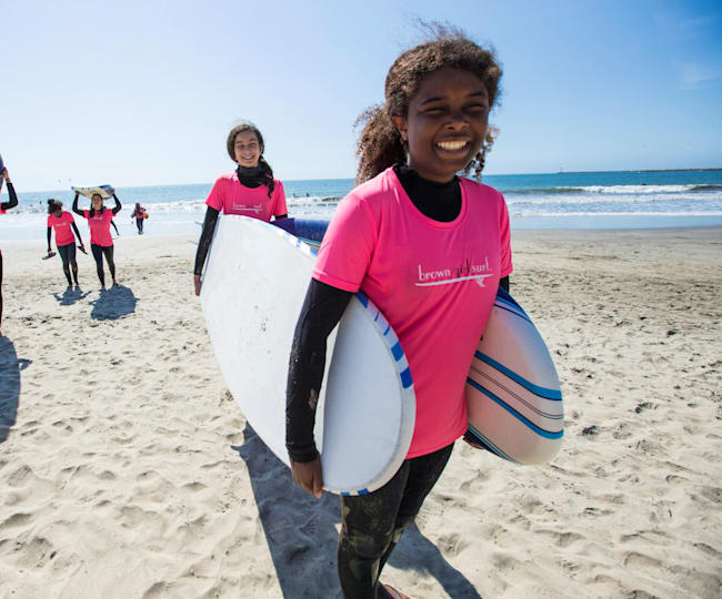 Brown Girl Surf: meet the surf crew changing perceptions of the sport