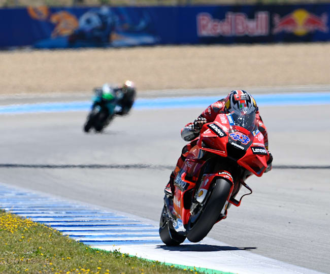 Ducati's Jack Miller powered to his second career MotoGP™ win in style
