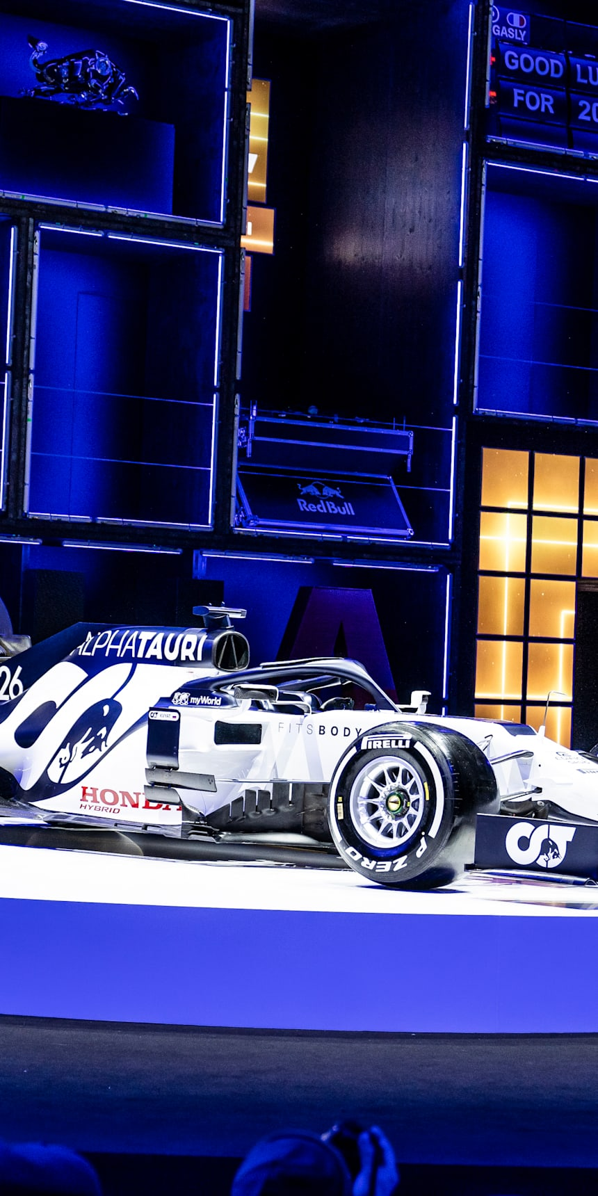 Scuderia Alphatauri F1 Car Reveal And Fashion Show