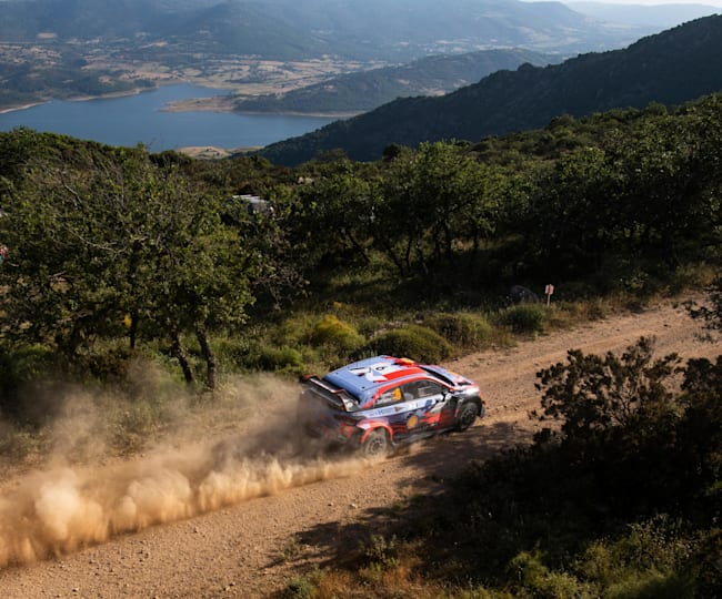 Dani Sordo, winner of Rally d'Italia Sardegna 2019
