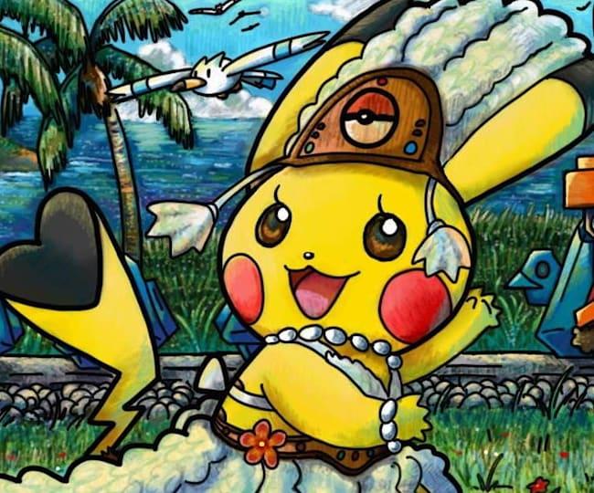 One of the Pokémon Art Academy Card designs