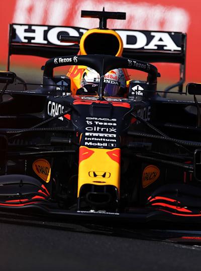 Max Verstappen versuchte alles, um Ergebniskorrektur zu betreiben.