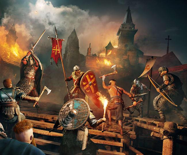Assassin's Creed - Raid at night