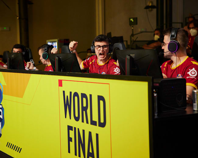 All the action from day one of the world finals