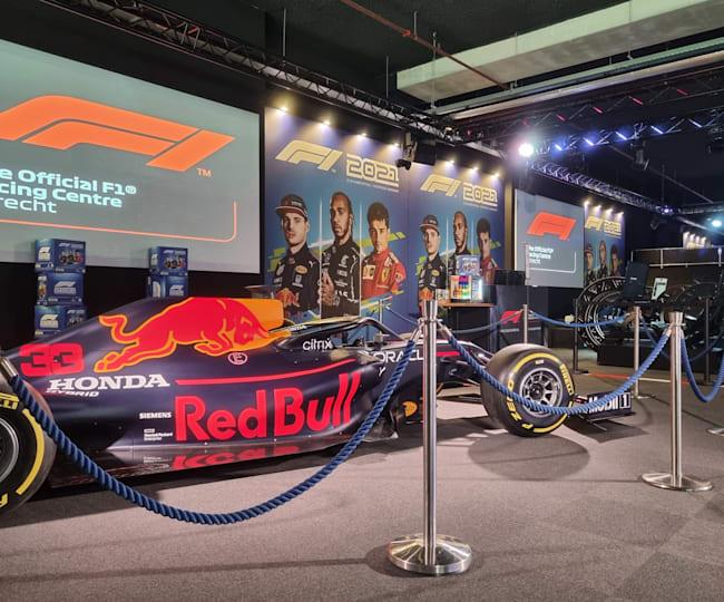 F1 2021 lancering in het F1 racing centre Utrecht