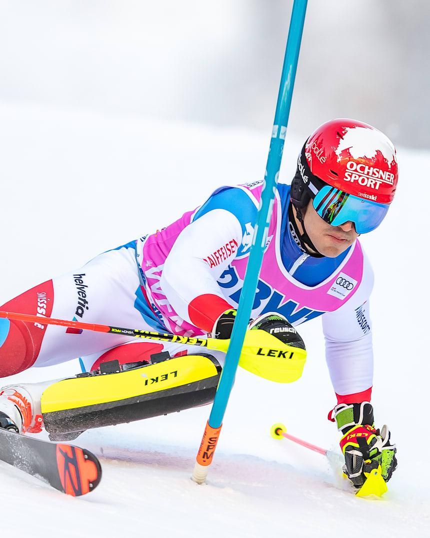 Loic Meillard Swiss Skier Wins First Fis World Cup