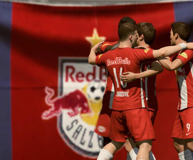 Red Bull Salzburg in FIFA 21