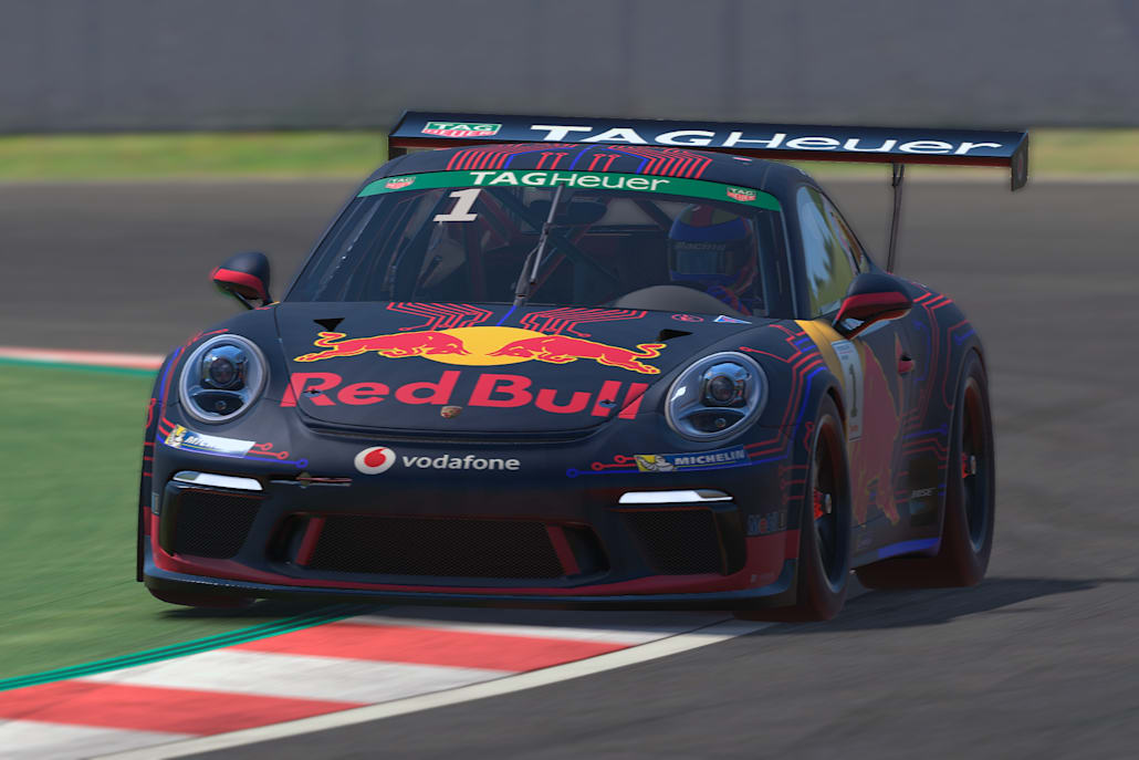iRacing Porsche Cup Barcelona: Good day for Red Bull duo Job and Rogers