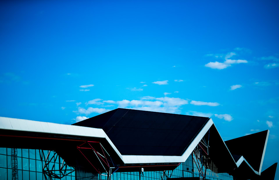 Silverstone Pit Building Shines Bright