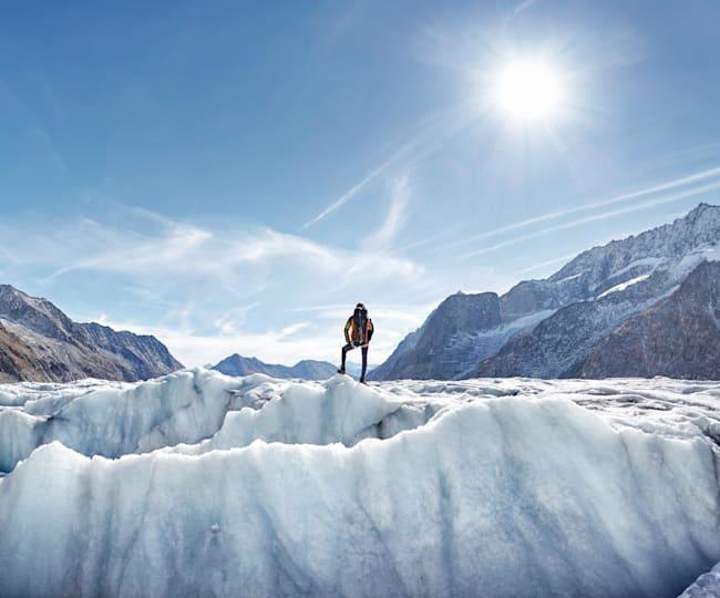 Najlepšie miesta na ľadovcové výstupy pre začiatočníkov