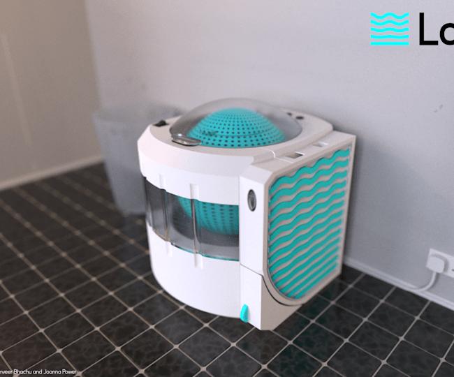The Lava Aqua X makes laundry cheaper and more environmentally friendly
