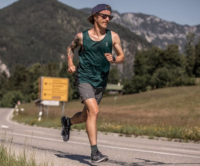 Ultra-Runner Flo Neuschwander in seinem Element