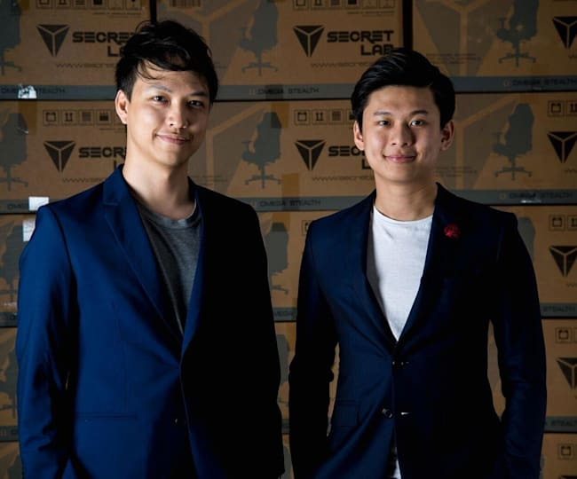Choo and Ang built the company themselves