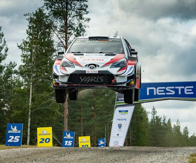 Jari-Matti Latvala sur ses terres au Rallye de Finlande