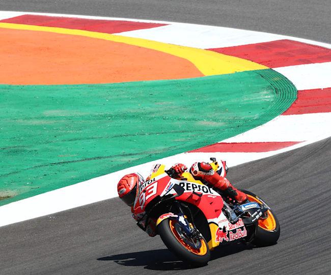 Марк Маркес на Honda вернулся в MotoGP™ в Гран-при Португалии