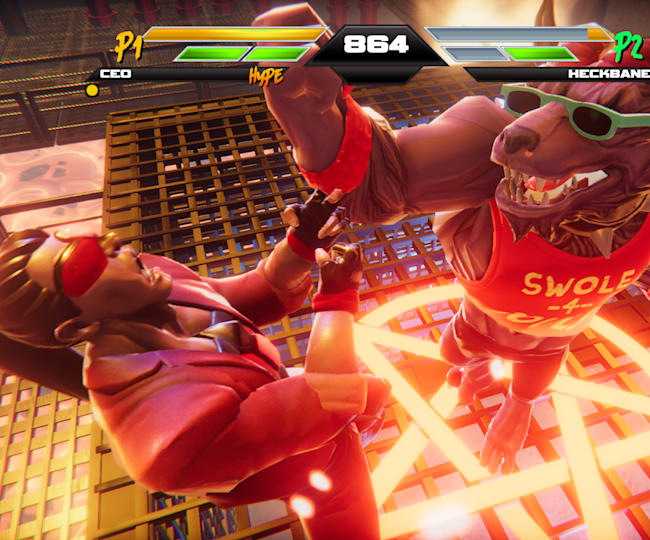 Mighty Fight's cast of original characters ooze personality