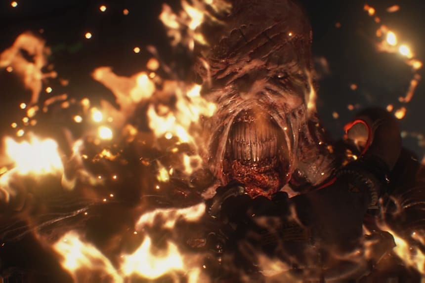 Resident Evil 3 Remake Nemesis Fights How To Survive