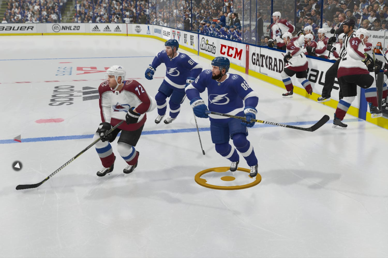 These are the 3 best players for every position in NHL 20