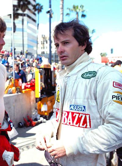 Pironi and Villeneuve at Long Beach