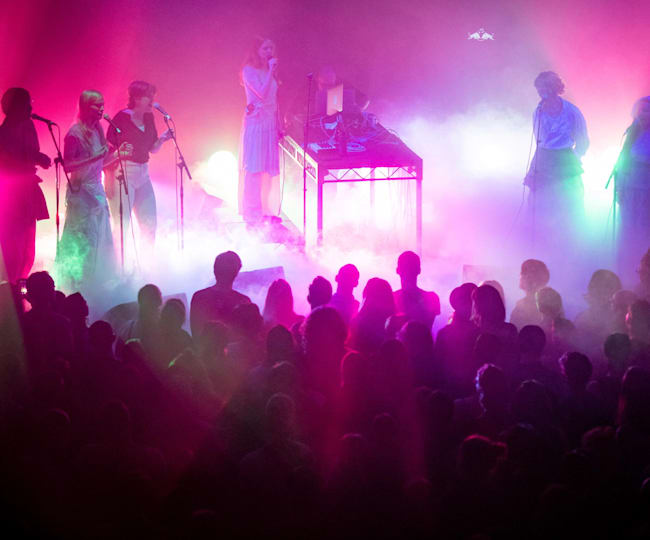 Holly Herndon performs PROTO at Red Bull Music Festival New York