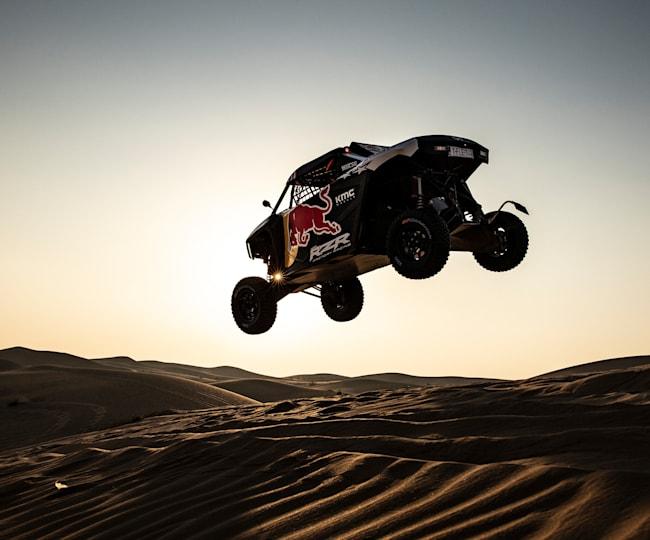 Seth Quintero Grabbing Air in Dubai
