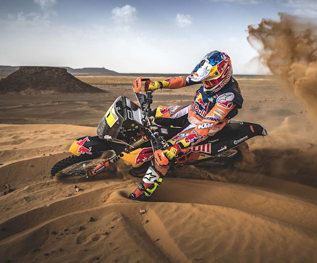 Red Bull Ktm 450 Dakar Rally 2020 Vehicle Profile
