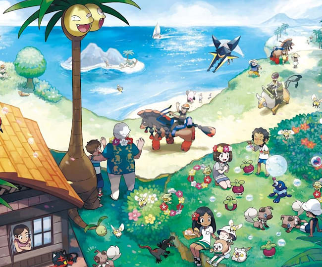 The world of Pokemon
