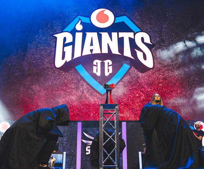 Vodafone Giants are back on the EU Masters stage