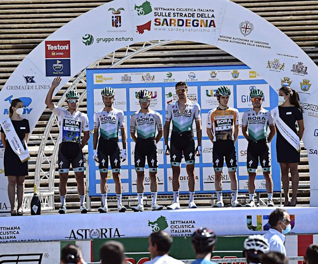 Drei Etappensiege für Toni Palzer und das Team von BORA-hansgrohe.