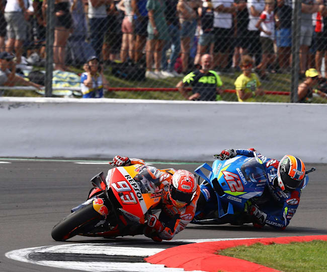 The battle for the British MotoGP™ win went down to the wire