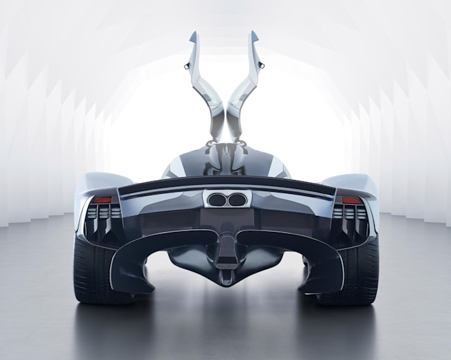 Aston Martin Valkyrie Hypercar Photos Red Bull