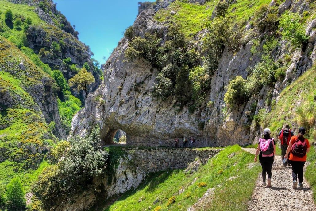 La Ruta del Cares est une randonnée d'un jour dans le Parc national des pics d'Europe en Espagne.