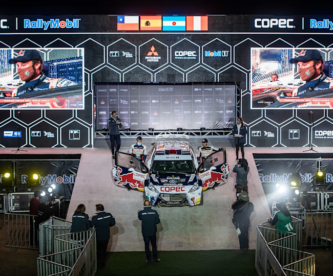 CopecIRallyMobil™ RallySTGO