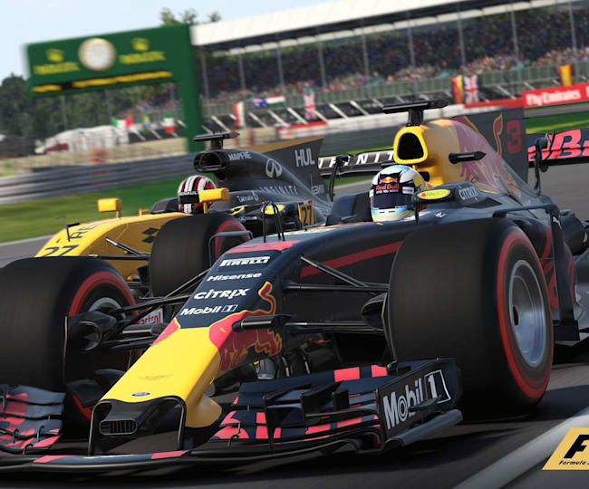 Red Bull's RB6 leads the pack