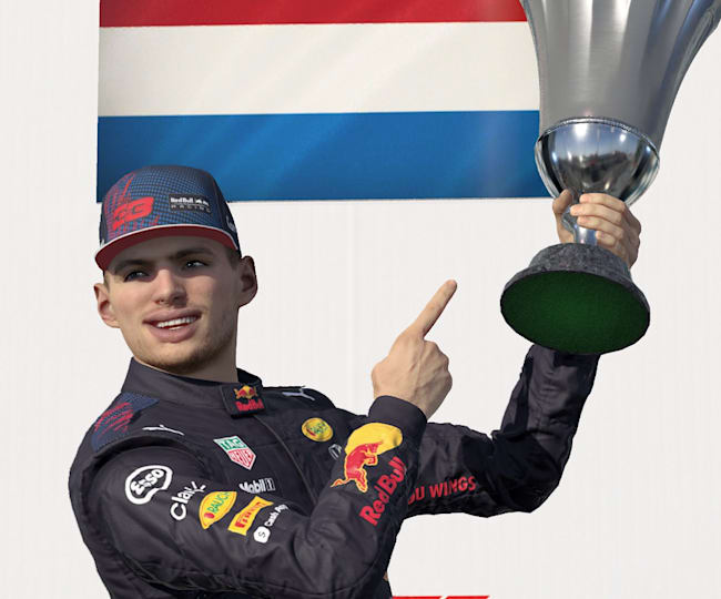Max Verstappen in F1 2021