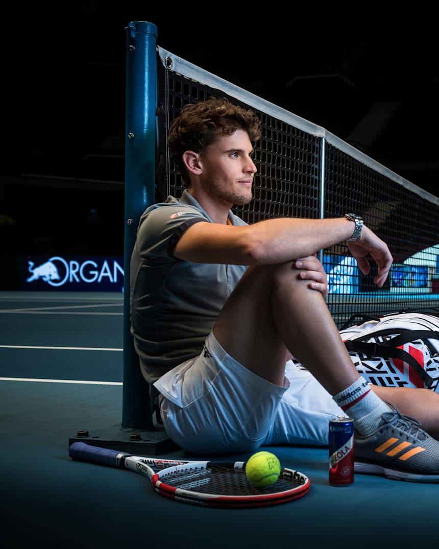 Tennis Dominic Thiem Interview April