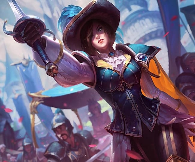 Fiora counters most rivals on the Rift