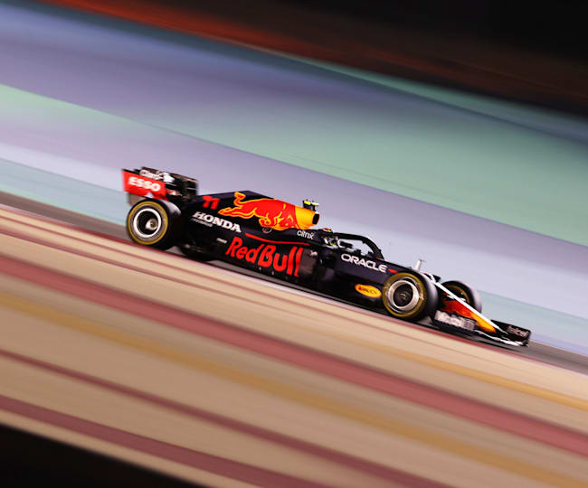 Sergio Pérez is already right at home in the Red Bull Racing fold