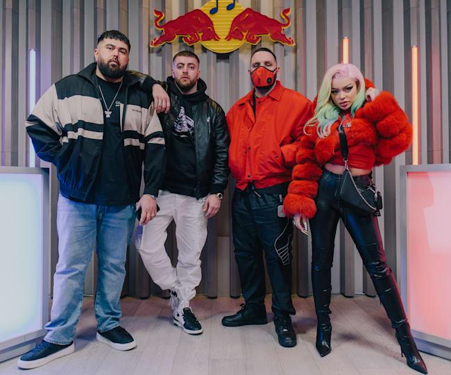 Summer Cem, KC Rebell, Fler und Katja Krasavice im Red Bull Rap Duell