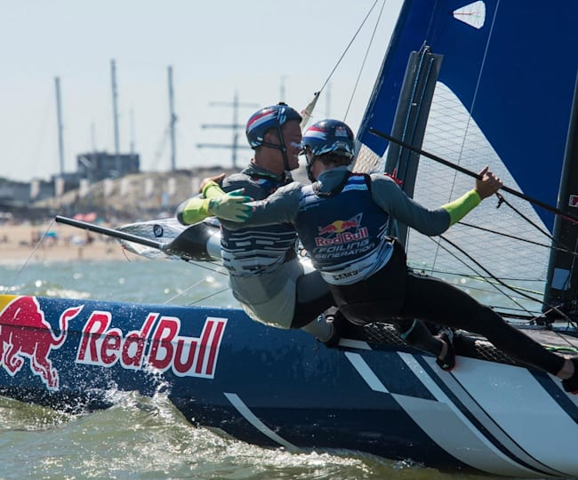 De winnaars van Red Bull Foiling Generation